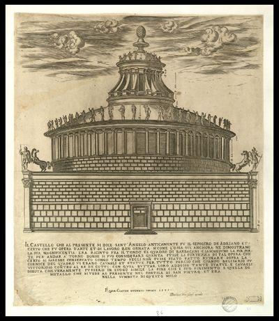 Il castello che al presente si dice Sant'Angelo anticamente fu il sepolcro de Adriano ... nella summita di questo molo