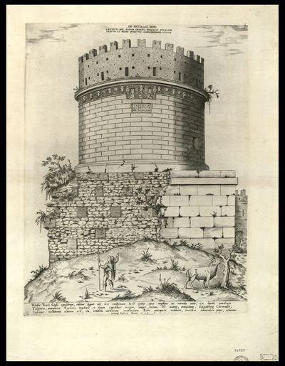 Metellae vxoris Crassi sepulchrum, editiore Appiae viae loco conspicuum ...