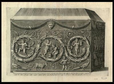 Antiqui ex porphyrite sarcophagi in Bacchi ad secundum ab vrbe via Nomentana lapidem ...