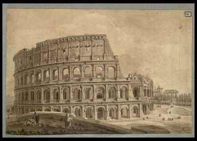 [Colosseo, esterno] / [Luigi Rossini