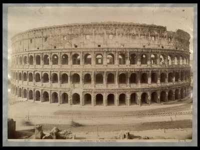 Anfiteatro Flavio detto il Colosseo / F.lli D'Alessandri