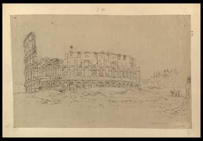 [Veduta esterna del Colosseo] / [F. Caracciolo f.]