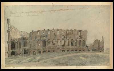 [Veduta esterna del Colosseo]