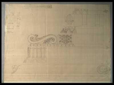 [Tempio di Castore e Polluce : fregi architettonici]