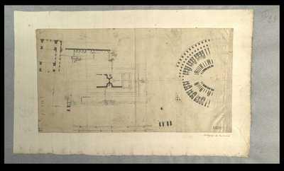 [Foro Romano, Colosseo e basilica di Costantino] / autografo De Romanis