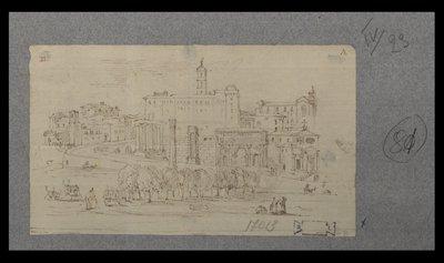 [Panorama nord-ovest del Foro Romano]