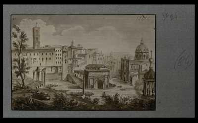 [Panorama nord del Foro Romano]