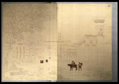 [Veduta del Foro Romano, panorama nord-ovest]