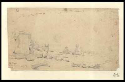Tebe 2 agosto Tempio di Amhon (sic) veduto da S. E.