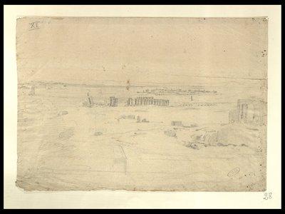 Veduta panoramica dei templi a Luxor