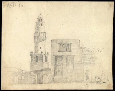 Minareto della Moschea Abu el-Haggag presso il Tempio di Luxor