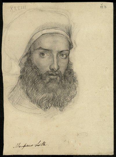 Ritratto di Nestor L'Hote , Monsieur Lotte (sic)