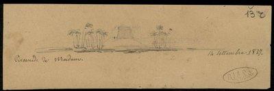 Piramide di Maidun (sic) 14 settembre 1827 (sic) [1829]