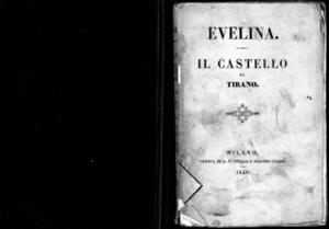 Evelina : racconto