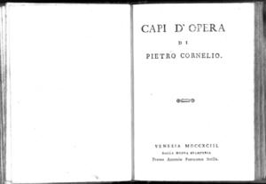 1.[2]: Capi d'opera di Pietro Cornelio