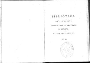 4.[1!: Poliutto tragedia di Pietro Cornelio. Traduzione di Agostino Paradisi