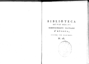 18.[1!: Capi d'opera di Antonio Alessandro Enrico Poinsinet