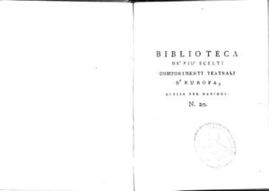 20.\[1]: Capi d'opera di Antonio La-Fosse