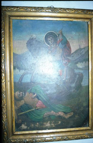 Ιερά εικόνα Αγίου Γεωργίου