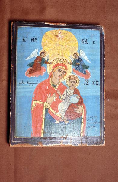 Eικόνα Παναγίας με το Χριστό.