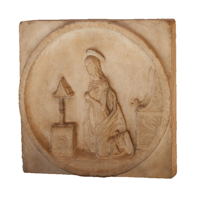 Decorated plate Artistic Artifact 1194 - 3D