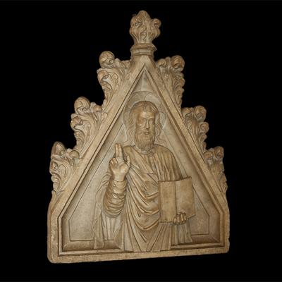 Pinnacled aedicula Artistic Artifact 964 - Image