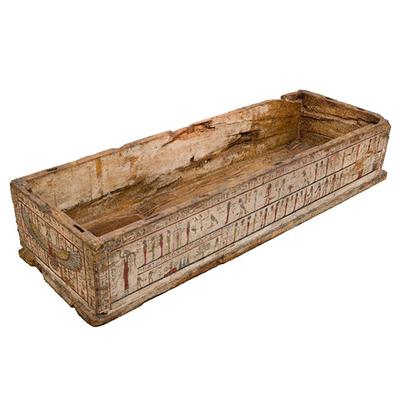 Case of a sarcophagus Artistic Artifact E 0.9.40148 - 3D