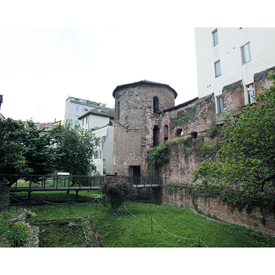 Archaeological Museum of Milano  - Poygonal tower - Image
