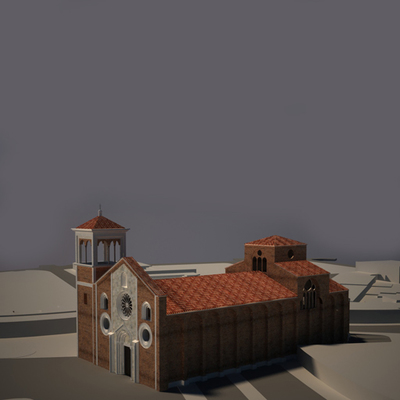 Church of San Giovanni in Conca - Historical Phase 02 - 3D