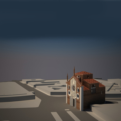Church of San Giovanni in Conca - Historical Phase 04 - 3D