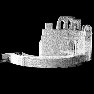 Church of San Giovanni in Conca  - Apse - 3D