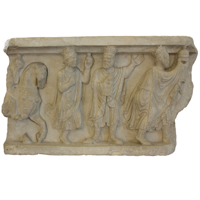 Fragment of plate Artistic Artifact S 3512 registro - Image