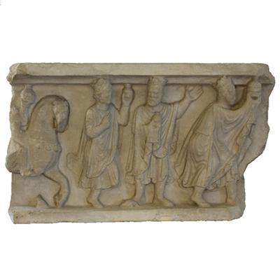 Fragment of plate Artistic Artifact S 3512 registro - 3D