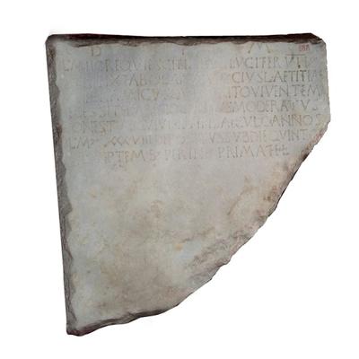 Inscription of Lucifer Archaeological Artifact Seletti - 288 - 3D