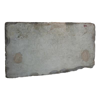 Inscription of Discolia Archaeological Artifact Seletti - 294 - Image
