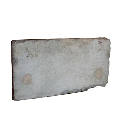 Inscription of Discolia Archaeological Artifact Seletti - 294 - 3D