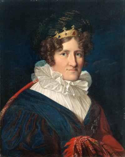 Herzogin Auguste Caroline Sophie von Sachsen-Coburg-Saalfeld, geb. Prinzessin von Reuß (1757-1831)