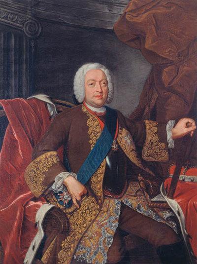 Franz Josias v. Sachsen-Coburg-Saalfeld (1697 - 1764, reg.ab 1729 gemeinsam mit seinem Halbbruder Christian Ernst, nach dessen Tod 1745 alleine)