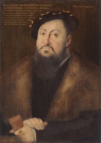 Johann Friedrich von Sachsen, genannt der Großmütige (1503-1554)