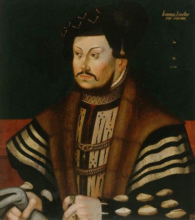 Johann Ernst von Sachsen (1521-1553)