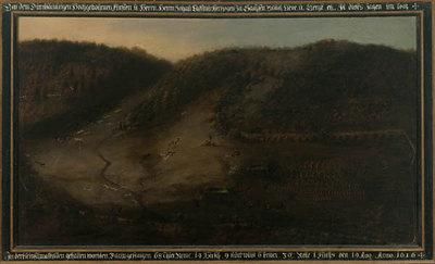 Jagd Johann Casimirs am 19. August 1616 in Schmalkalden