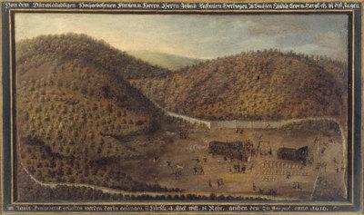 Jagd Johann Casimirs am 20. August 1616 in Tenneberg