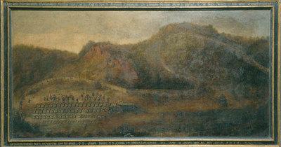 Jagd Johann Casimirs am 10. August 1630 in Schmalkalden