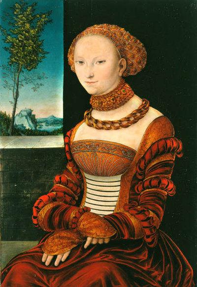 Bildnis einer jungen Frau (Sibylle von Cleve?)