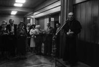 Freiburg: Kolpingsaal, Danksagung des Erzbischofs an die Mitarbeiter des Katholikentags