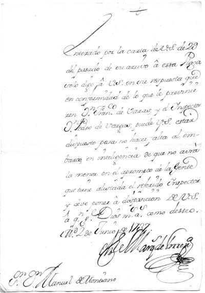 Archivo Agustín Montiano. 10-19 [Recurso electrónico], 1737/06/02