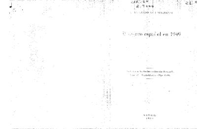 El Seguro español en 1949