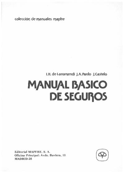 Manual básico de seguros