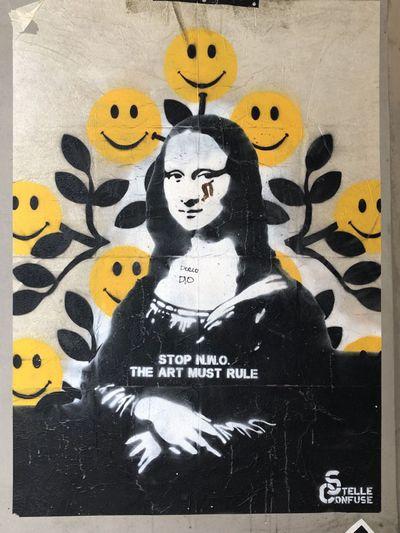 Monna Lisa e smiles