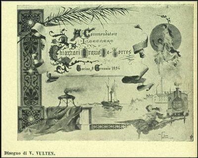 Vulten, Vittorio  [Disegno]